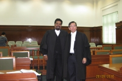DJG in the Johor Bahru Courts with former president, Dato' Yoh Yang Koh