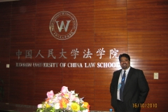 DJG at the Renmin Law School, China