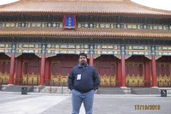 DJG outside the Emperor's house in the Forbidden City