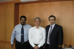 DJG in Hong Kong with Dato' Poh, advising Henry Wai & Co on a suit in Hong Kong