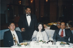 DJG with Chief Justice Raus and his wife