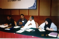 DJG with Siva Rasiah - Human Rights Training Programme